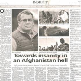 Philip Young in Afghanistan Prison