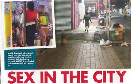 Sex In The CityForced onto the streets by poverty and desperation many women support their families by selling their bodies