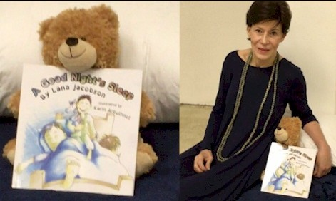 A Good Night's Sleep - by Lana JacobsonIt's bedtime. Gabriel's Mommy and Daddy are hoping for a good night's sleep. But Gabriel has other plans… In this humorous book for ages 2 and up, Gabriel keeps his mom and dad awake week in and week out.